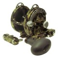 Avet HX 5/2 MC Raptor Two-Speed Lever Drag Casting Reel Green Camo